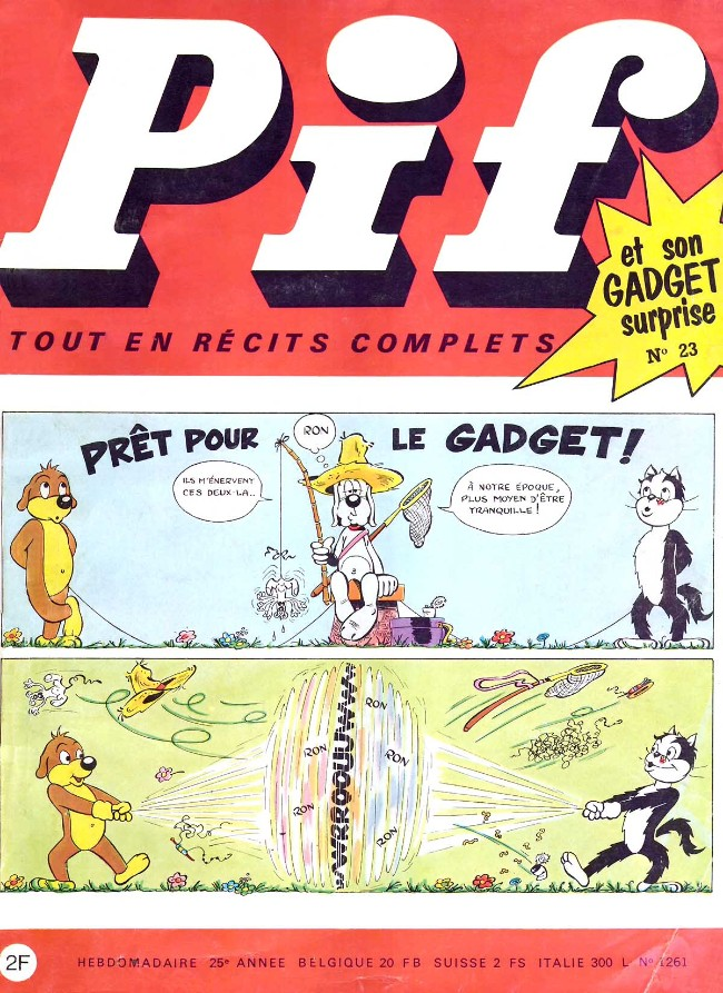 Couverture de Pif (Gadget) -23- Numéro 23