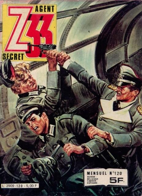 Couverture de Z33 agent secret -120- Les corbeaux pleurent la nuit