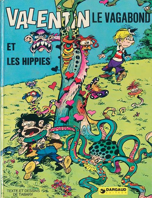 Couverture de Valentin le vagabond -3- Valentin et les hippies