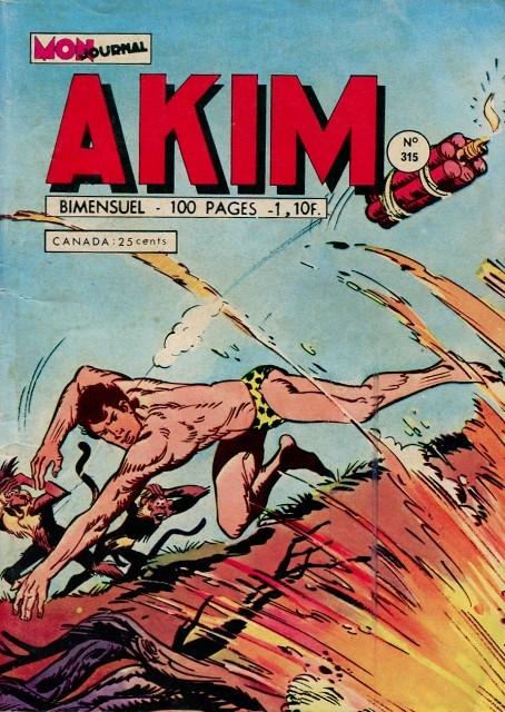 Couverture de Akim (1re série) -315- La dernière carte de Zambo