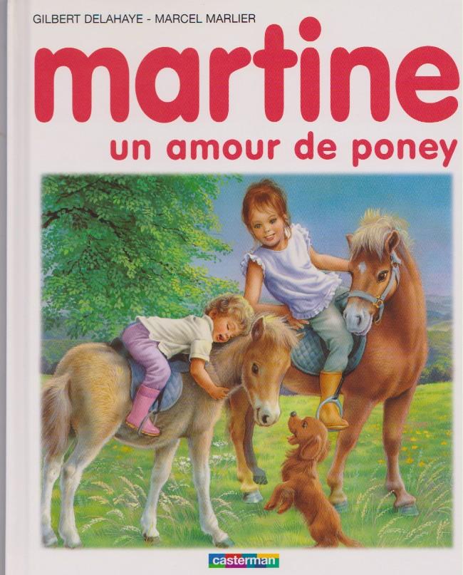 Couverture de Martine -56a- Martine, un amour de poney