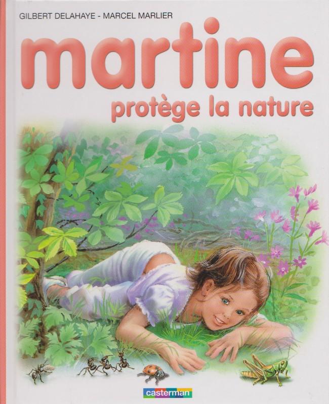 Couverture de Martine -59- Martine protège la nature
