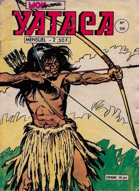 Couverture de Yataca (Fils-du-Soleil) -120- Les Okapis Sacrés