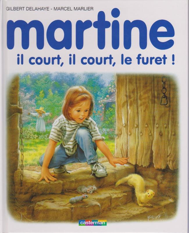Couverture de Martine -45a- Martine, il court, il court, le furet!