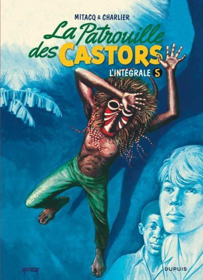 Couverture de La patrouille des Castors -INT5- L'intégrale 5 (1971-1975)
