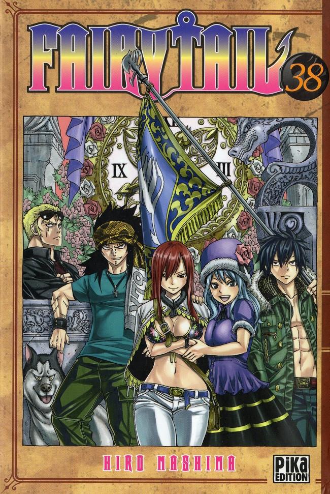 Couverture de Fairy Tail -38- Tome 38