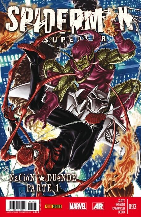 Couverture de Asombroso Spiderman -93- Nación Duende: Parte 1