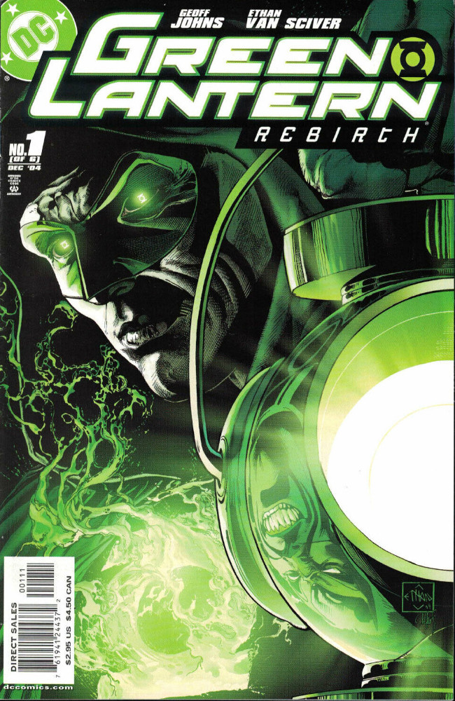 Couverture de Green Lantern: Rebirth (2004) -1- Blackest Night