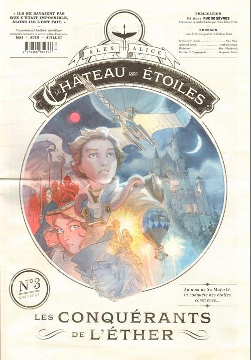 Couverture de Le château des étoiles -3- Les Conquérants de l'éther