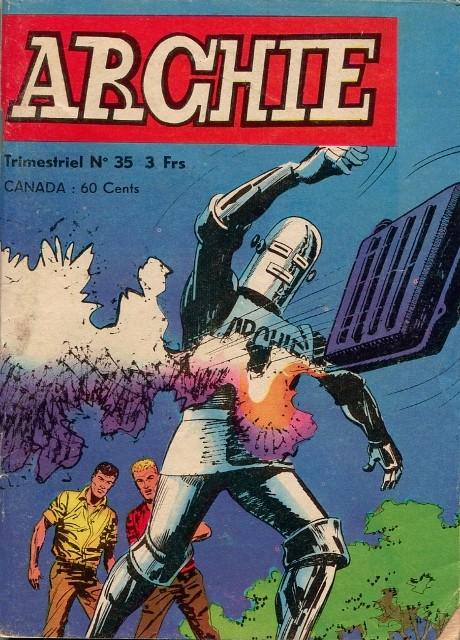 Couverture de Archie (Jeunesse et Vacances) -35- La Disparition de Ken
