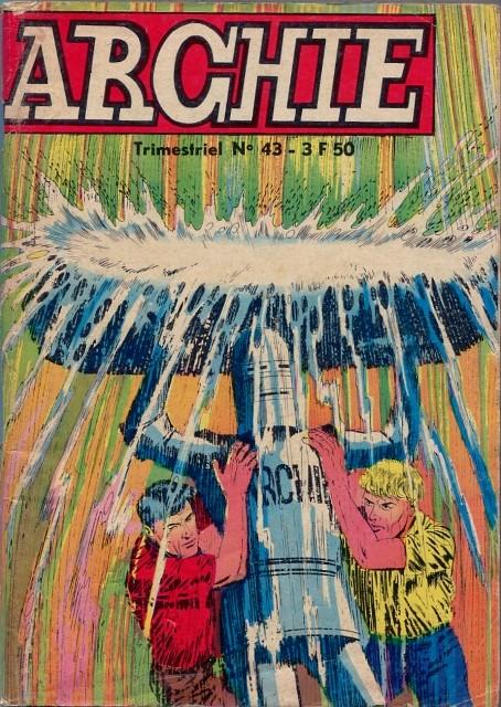 Couverture de Archie (Jeunesse et Vacances) -43- Archie Explorateur