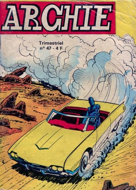Couverture de Archie (Jeunesse et Vacances) -47- Le Retour des Hommes Taupes