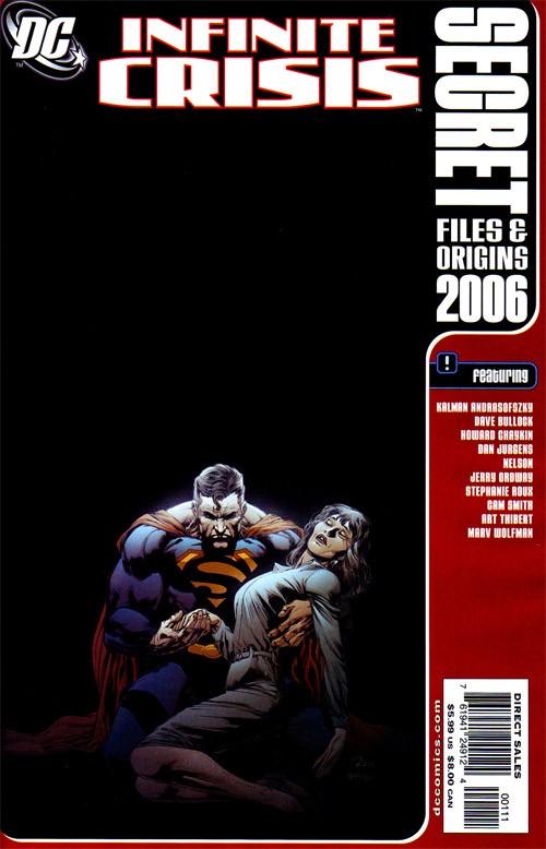 Couverture de Infinite Crisis Secret Files (2006) - Infinite Crisis Secret Files and Origins