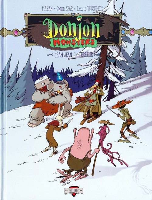 Couverture de Donjon Monsters -1- Jean-Jean la Terreur