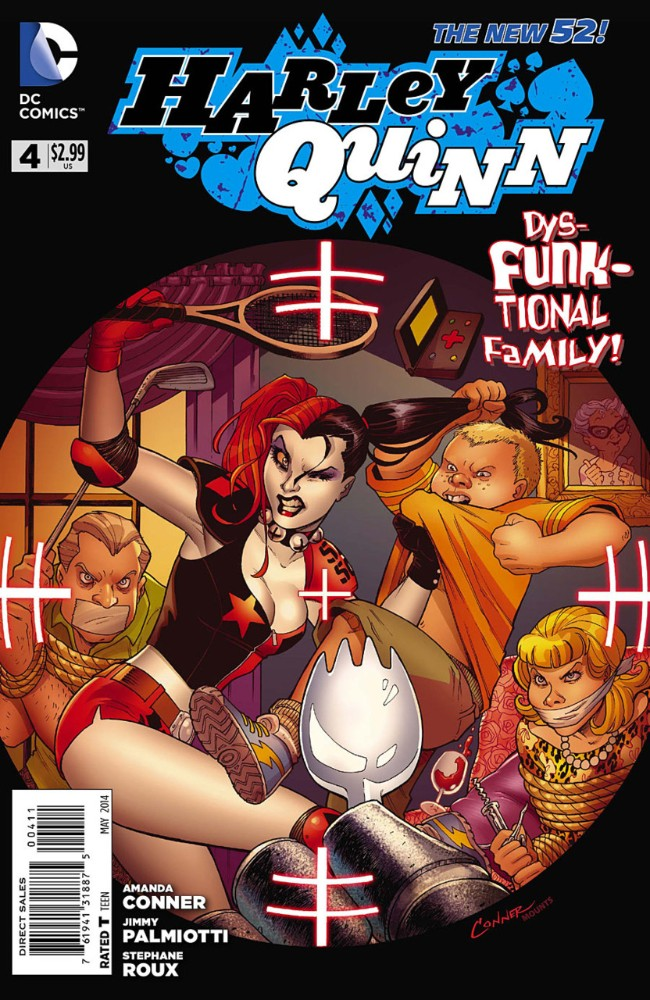 Couverture de Harley Quinn (2014) -4- Very Old Spice