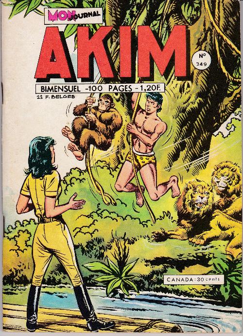 Couverture de Akim (1re série) -349- La flûte enchantée
