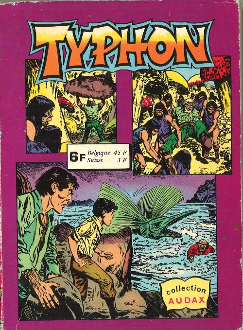 Couverture de Typhon -Rec09-  Recueil 5801 (18-19)