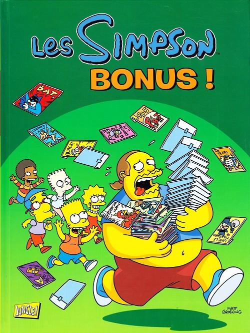 Couverture de Les simpson (Jungle !) -HS- Bonus !