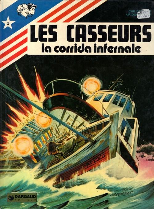 Couverture de Les casseurs - Al & Brock -5- La corrida infernale