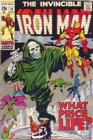 Couverture de Iron Man Vol.1 (Marvel comics - 1968) -19- What price life ?