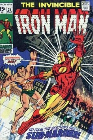Couverture de Iron Man Vol.1 (Marvel comics - 1968) -25- This doomed land-This dying sea !