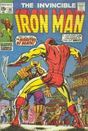 Couverture de Iron Man Vol.1 (Marvel comics - 1968) -30- The menace of the Monster-Master