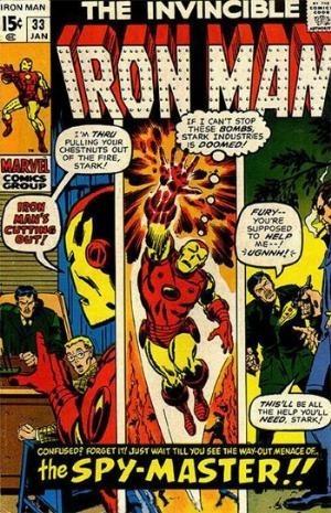 Couverture de Iron Man Vol.1 (Marvel comics - 1968) -33- Their mission :Destroy stark industries