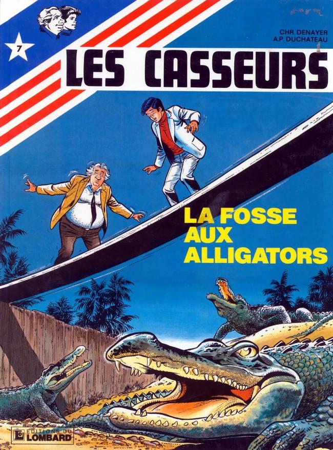 Couverture de Les casseurs - Al & Brock -7- La fosse aux alligators