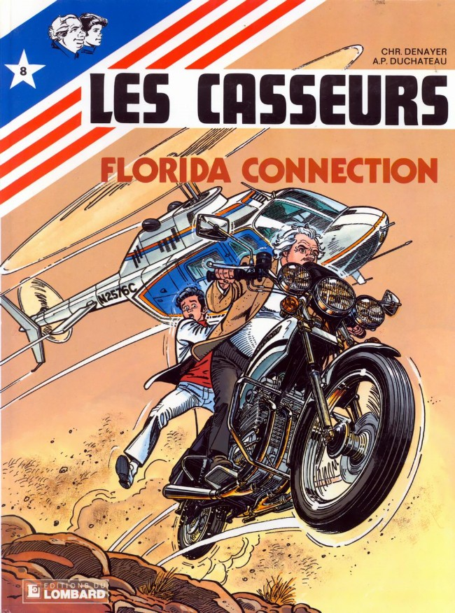 Couverture de Les casseurs - Al & Brock -8- Florida connection