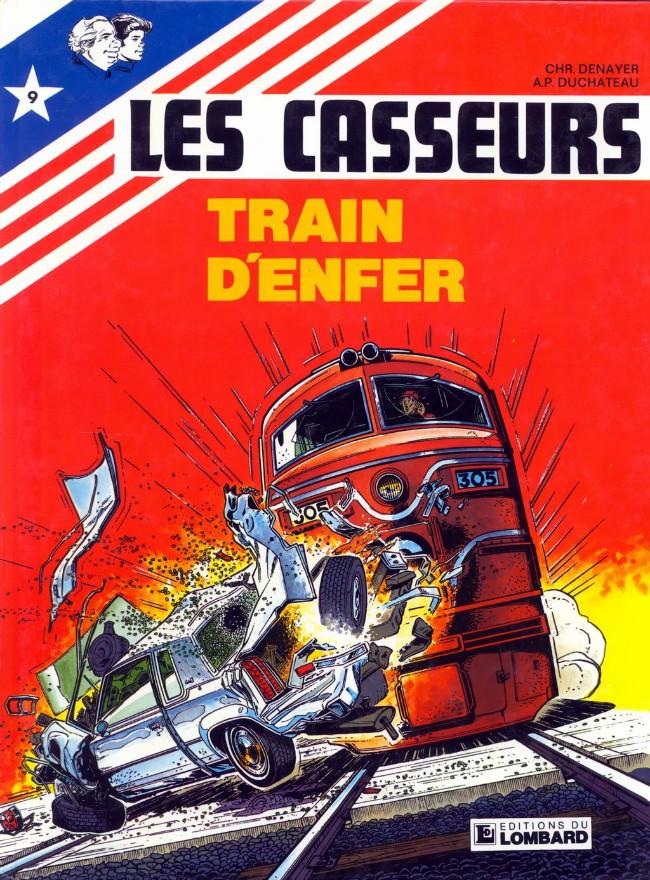 Couverture de Les casseurs - Al & Brock -9- Train d'enfer