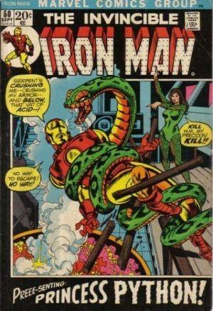 Couverture de Iron Man Vol.1 (Marvel comics - 1968) -50- The Curtain Rises on...