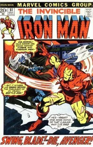 Couverture de Iron Man Vol.1 (Marvel comics - 1968) -51- Now stalks the Cyborg-sinister