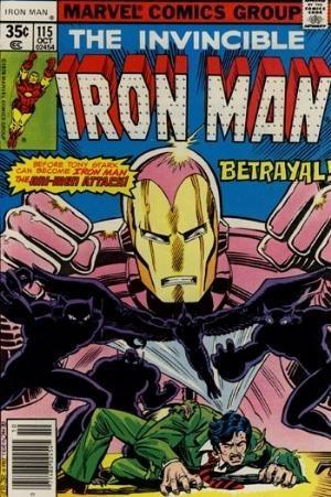 Couverture de Iron Man Vol.1 (Marvel comics - 1968) -115- Betrayal !