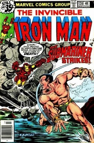 Couverture de Iron Man Vol.1 (Marvel comics - 1968) -120- The old man and the sea prince