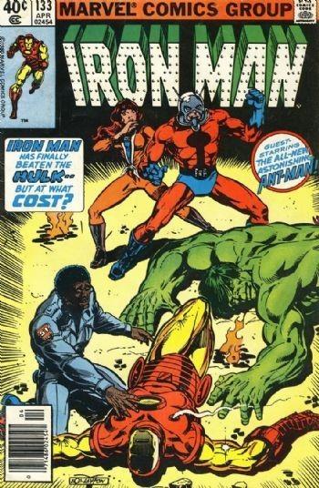 Couverture de Iron Man Vol.1 (Marvel comics - 1968) -133- The hero within !
