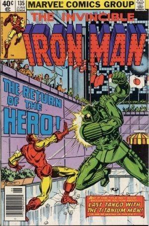 Couverture de Iron Man Vol.1 (Marvel comics - 1968) -135- Return of the hero