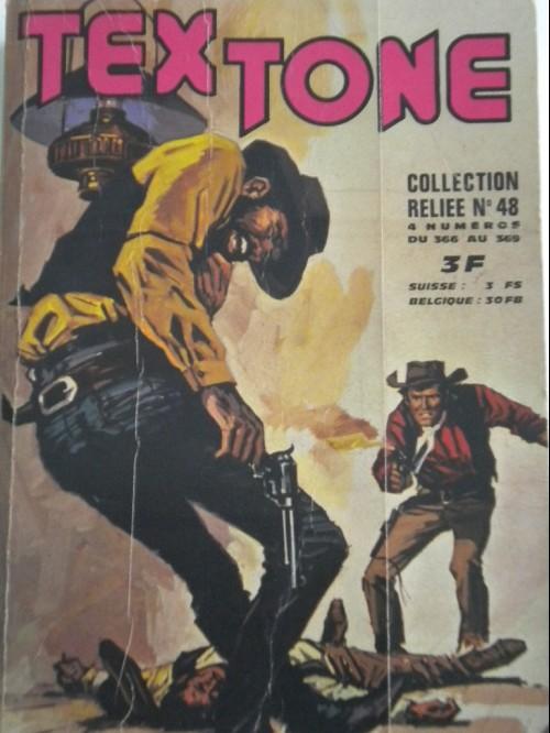 Couverture de Tex-Tone -Rec48- Collection reliée N°48 (du n° 366 au n° 369)