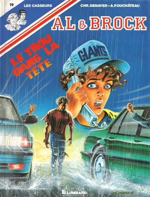 Couverture de Les casseurs - Al & Brock -19- Le trou dans la tête
