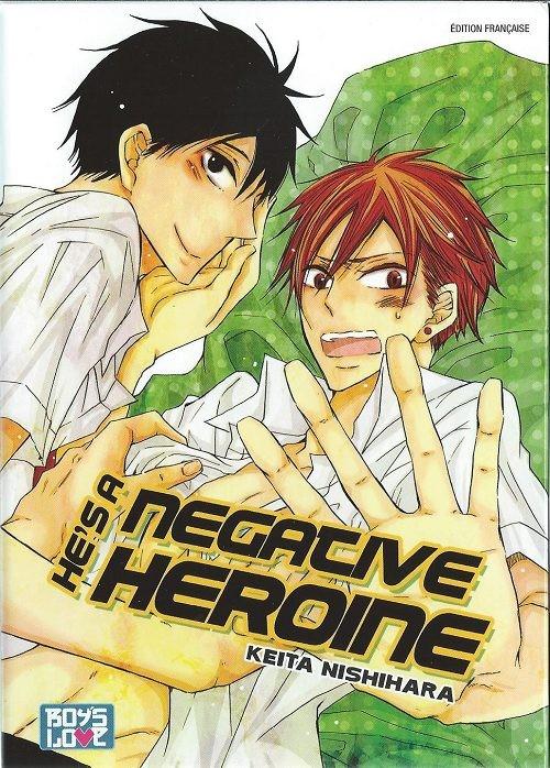 Couverture de He's a negative heroine