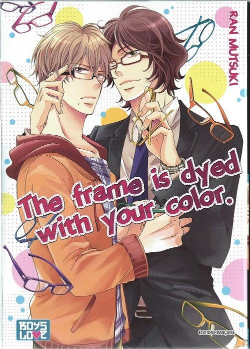 Couverture de Frame is dyed with your color (The) - The frame is dyed with your color