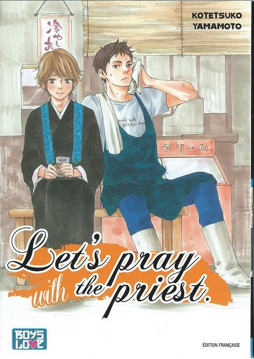 Couverture de Let's pray with the priest -1- Tome 1