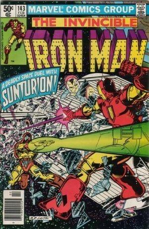 Couverture de Iron Man Vol.1 (Marvel comics - 1968) -143- Meter on the Sun !