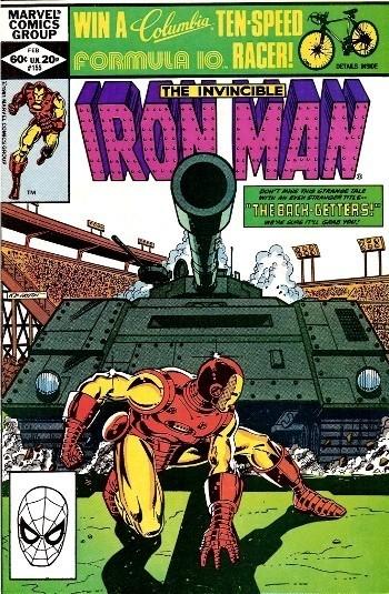 Couverture de Iron Man Vol.1 (Marvel comics - 1968) -155- The back-getters !