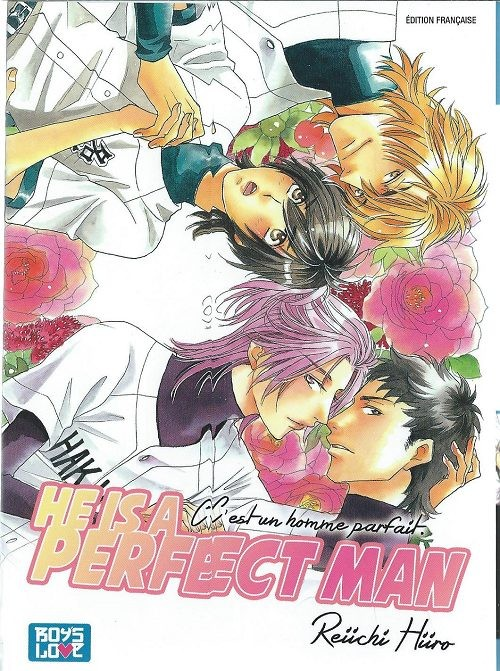 Couverture de He is a perfect man -1- Tome 1