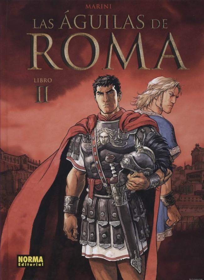 Couverture de Águilas De Roma (Las) -2- Libro II