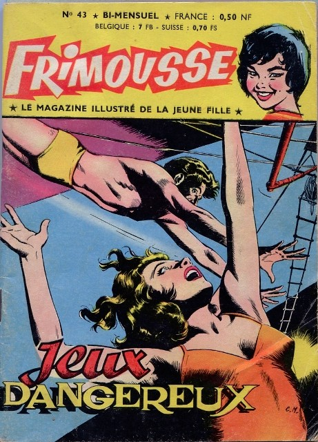 Couverture de Frimousse et Frimousse-Capucine -43- Jeux Dangeureux