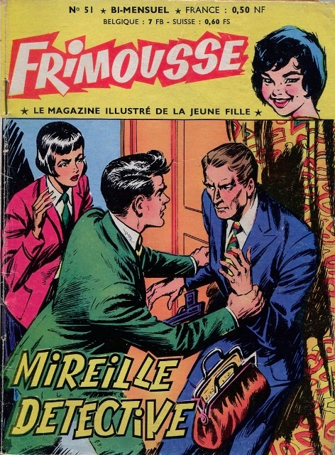 Couverture de Frimousse et Frimousse-Capucine -51- Mireille Détective