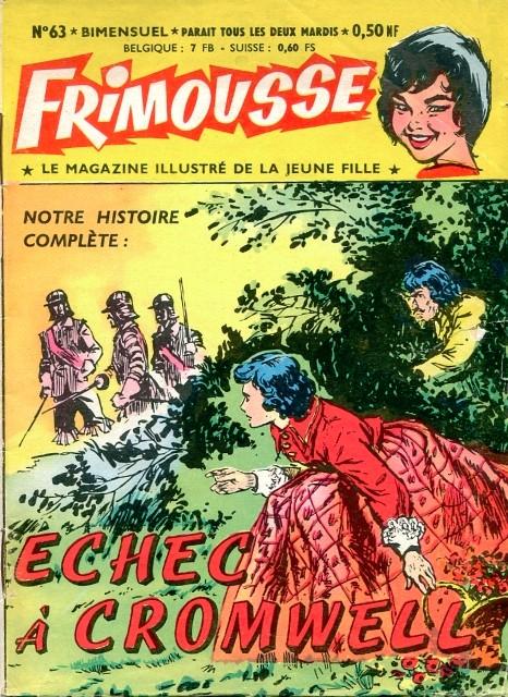 Couverture de Frimousse et Frimousse-Capucine -63- Echec à Cromwell