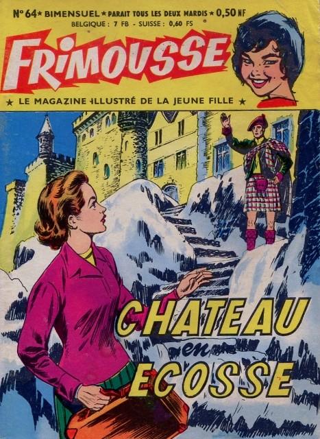 Couverture de Frimousse et Frimousse-Capucine -64- Château en Ecosse