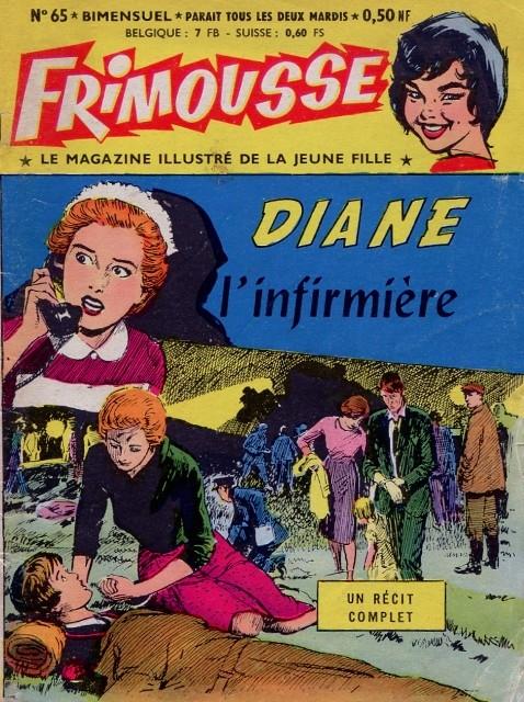 Couverture de Frimousse et Frimousse-Capucine -65- Diane l'infirmière